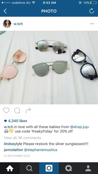 sunglasses mirrored sunglasses sunnies glasses accessories accessory trendy summer summer accessories