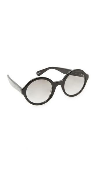 glitter sunglasses silver black grey silver glitter