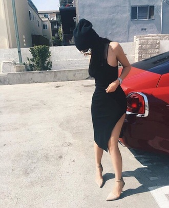 shoes kylie jenner nude sandals high heel sandals dress petite kylie jenner dress black dress