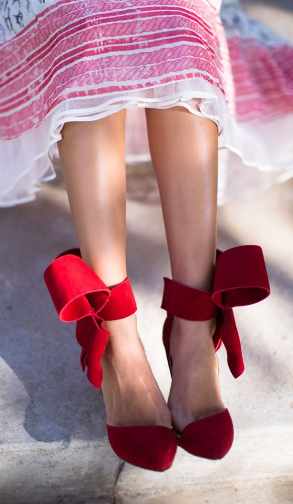 shoes red bow high heels sandals Red suede sandals high heel sandals red high heel sandals red sandals bow heels bow