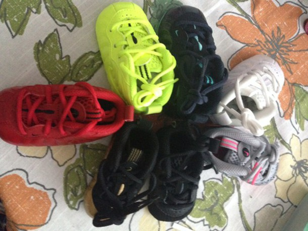Shoes nike baby sneakers foamposite nike foamposites