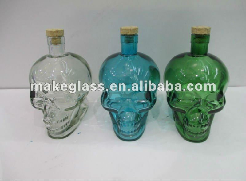 Colourful Human Skeleton Shaped Glass Bottle - Buy Skeleton Bottle,Glass Wine Bottle,Glass Bottle Product on Alibaba.com