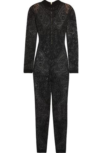 jumpsuit lace black