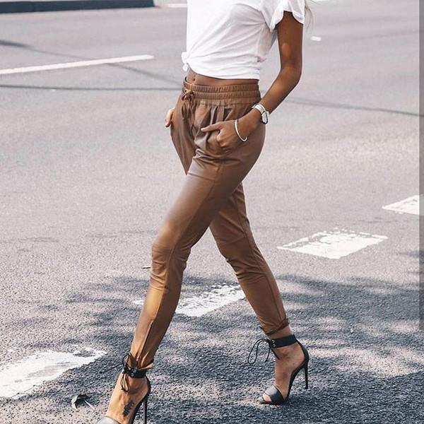 pants brown pants brown