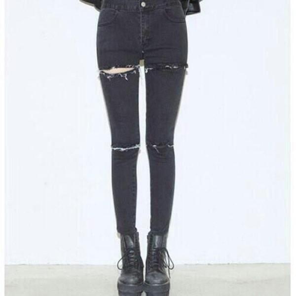 jeans jeans punk