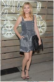 dress,chloe grace moretz,shoes