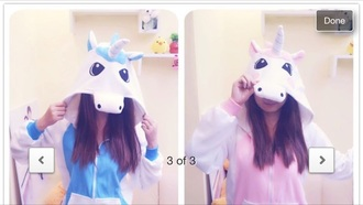 sweater hoodie unicorn sweet blue sweater blue hoodie pink hoodie pink sweater colorful