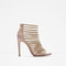 Cage sandal with chains - sandals - shoes - woman - sale | zara united states