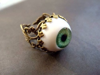 jewels gold eye ring