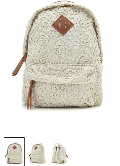 bag backpack lace