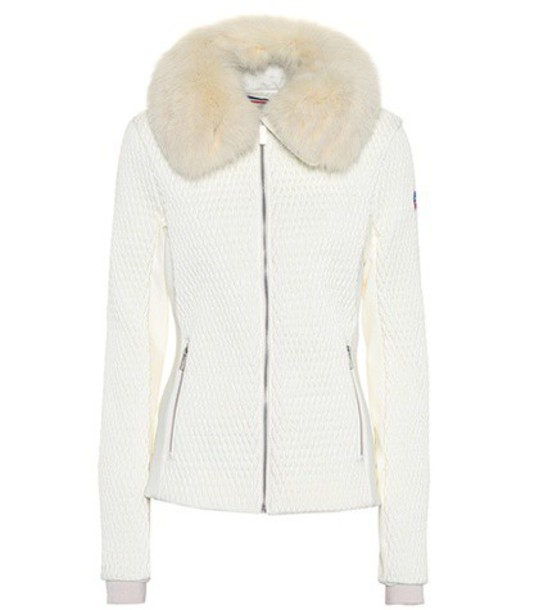 Fusalp jacket fur white