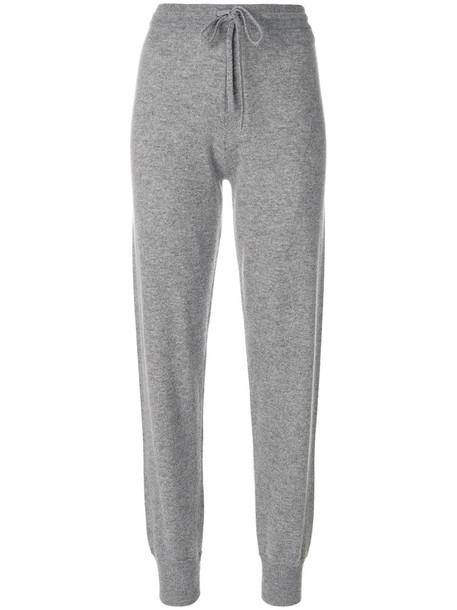 theory pants track pants women grey