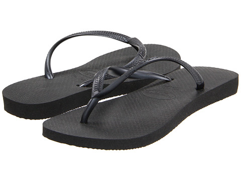 Havaianas Slim Flip Flops Black - Zappos.com Free Shipping BOTH Ways
