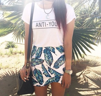 skirt t-shirt shirt