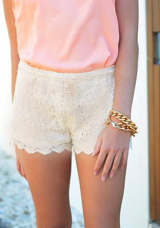 shorts crotchet shorts lace shorts white lace shorts white white shhorts white crotchet shorts white floral shorts flowered shorts