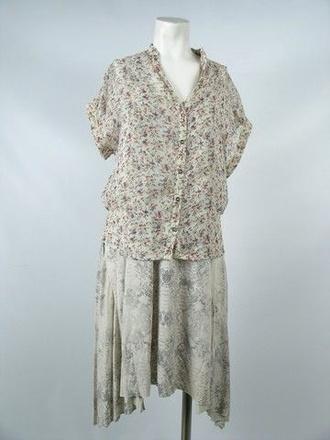 movie blouse vintage alice englert floral lena duchannes beautiful creatures