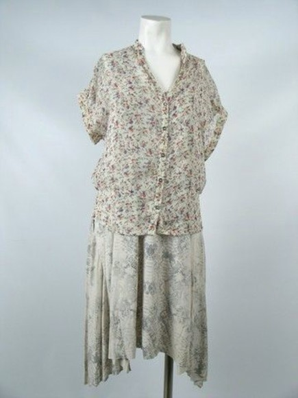 blouse movie alice englert floral lena duchannes vintage beautiful creatures