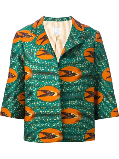 Stella Jean 'ibisco' Boxy Jacket - Penelope - Farfetch.com