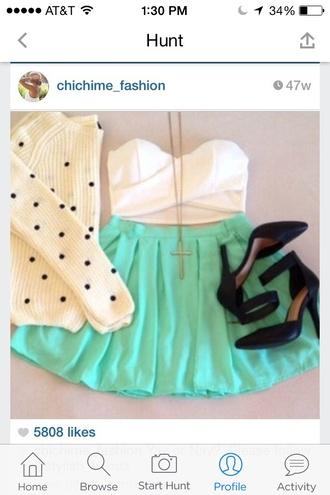 sweater polka dots white cute shirt girly girly wishlist`` this exact one ! helpmetofindit gorgeous