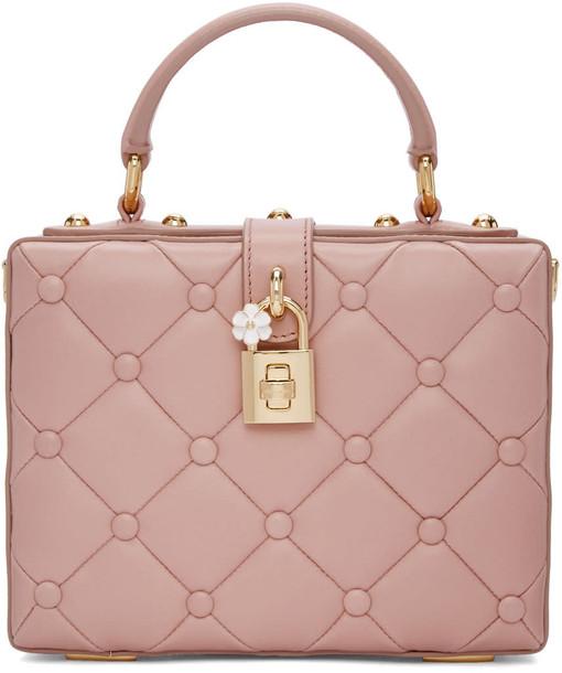 Dolce and Gabbana bag pink