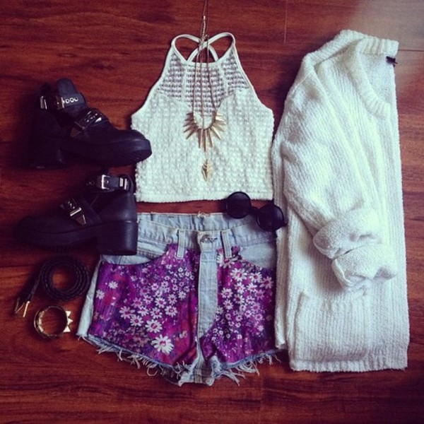 tank top crop tops lace top summer top halter neck top style lace halter neck shorts denim white crop tops white halter top white lace crop tops shoes