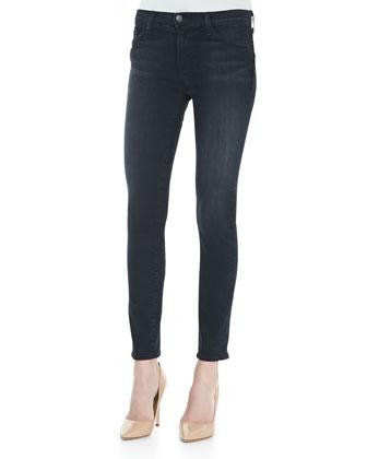 J Brand Jeans Mid-Rise Rail Skinny-Leg Denim Jeans