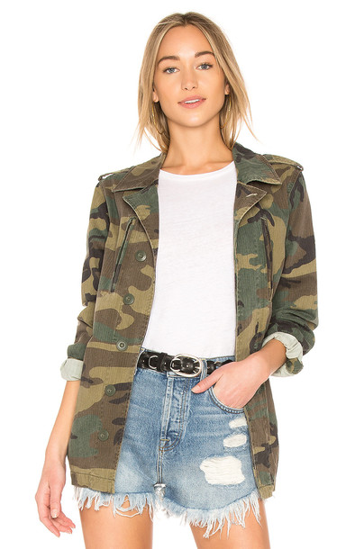 ALPHA INDUSTRIES French Field Coat in green