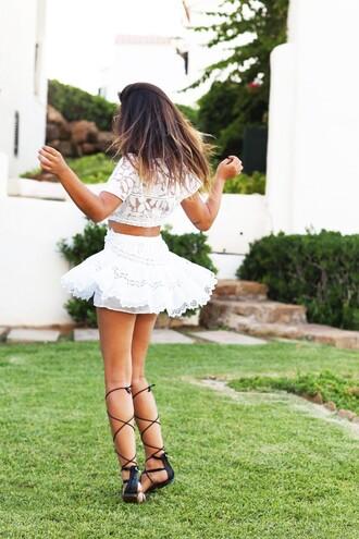 dulceida blogger flat sandals