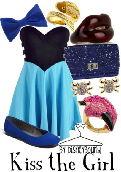 ariel disney dress ariel the little mermaid little black dress blue dress