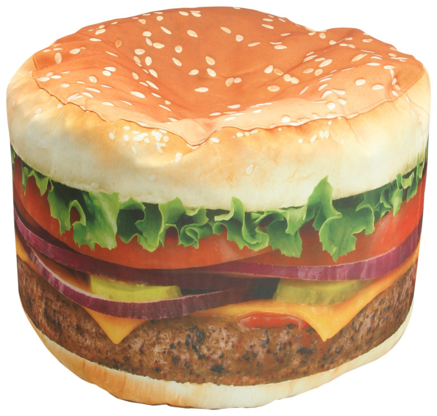 Amazon.com - Wow! Works Hamburger Adult Beanbag chair - Bean Bag Chairs