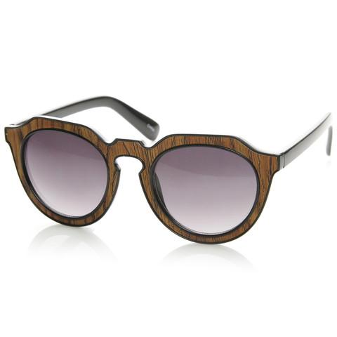 Trendy Womens Designer Block Cut Pattern Sunglasses 9156                           | zeroUV