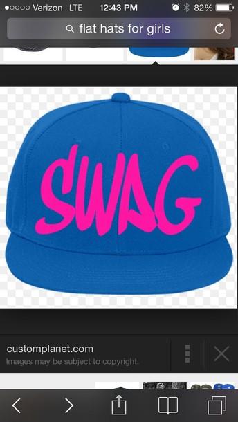 hat flat swag hat