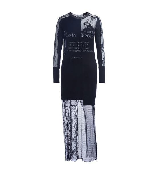 McQ Alexander McQueen dress lace dress black lace dress lace black black lace