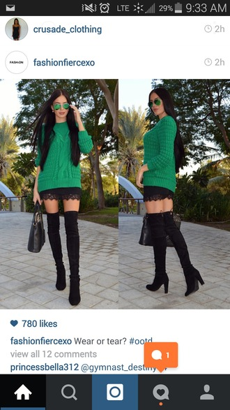 shoes thigh high boots black boots high heels cute shoes fall outfits