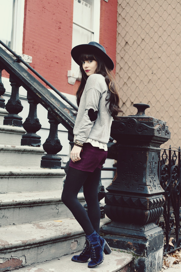 jag lever sweater blouse shorts hat shoes