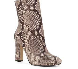 shoes boots booties kourtney kardashian snake print snake skin trendy winter boots fall boots style stylish