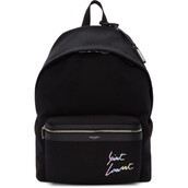 embroidered,backpack,black,bag