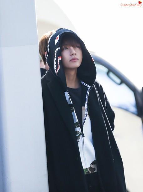 Jacket Black K Pop Taehyung V Kim Taehyung Bts Bts