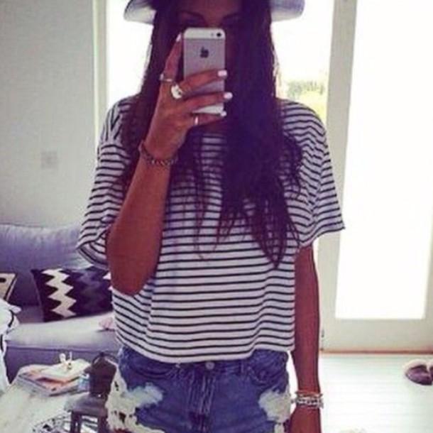 shirt striped shirt