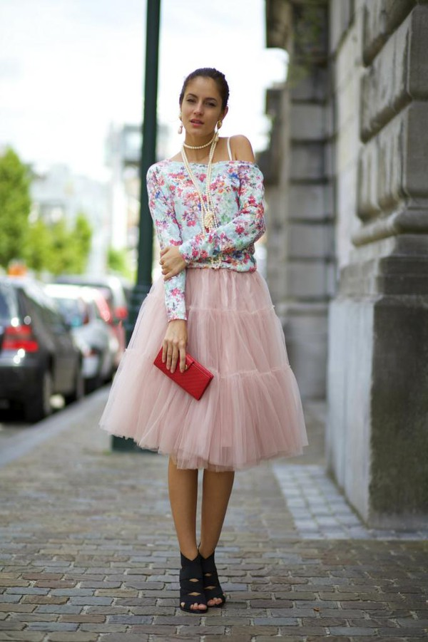 from brussels with love skirt shoes blouse jewels