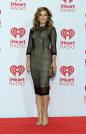 dress,black,sheer,sophia bush,bag,clutch