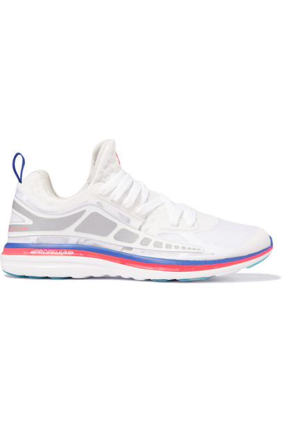 athletic propulsion labs mesh sneakers white shoes