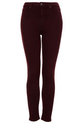 MOTO Aubergine Jamie Jeans - Jeans  - Clothing  - Topshop