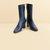 Mira Crinkle Patent Boot — Trademark