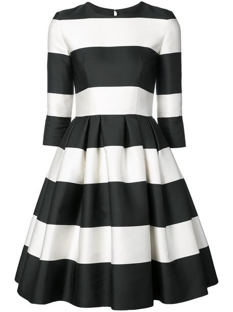 Carolina Herrera dress women black silk