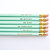 Gentle Reminders Pencils- Mother's Day Gift- Mint and Gold, Set of 6