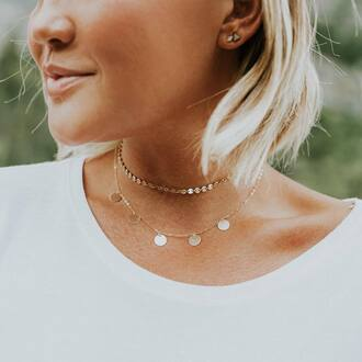 jewels tumblr jewelry accessories accessory necklace gold necklace gold gold choker gold jewelry