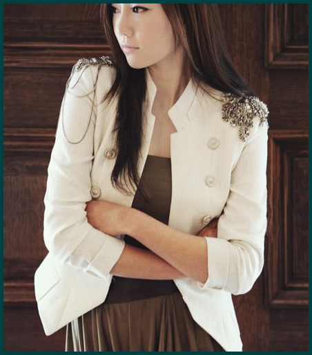 2013 New Coming Hot sale cool Napoleon military style jacket epaulets adorn suit blazer white chic suit free shipping SH 162-in Blazer & Suits from Apparel & Accessories on Aliexpress.com