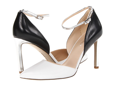 Nine West Camelle White Multi Leather - Zappos.com Free Shipping BOTH Ways