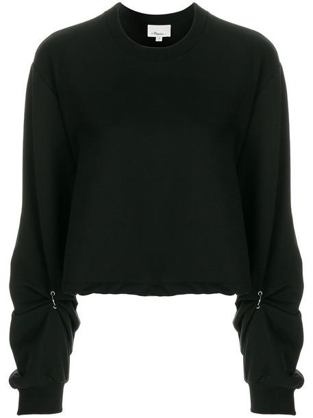 3.1 Phillip Lim sweatshirt women cotton black sweater